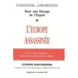L'Europe assassinée - Pierre Debray