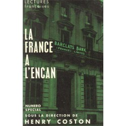 La France  à l'encan - Henry Coston