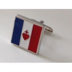 Espoir et Salut de la France - Boutons de manchette