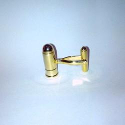 Balle dorée - Boutons de manchette