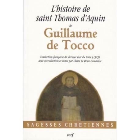 L'histoire de saint Thomas d'Aquin - Guillaume de Tocco