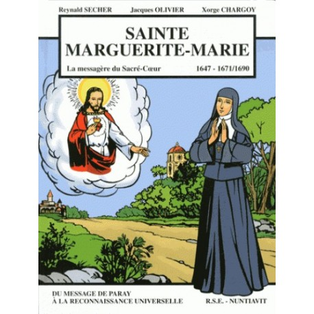 BD - Sainte Marguerite-Marie - Reynald Secher