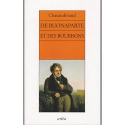 De Buonaparte et des Bourbons - F.-R. de Chateaubriand
