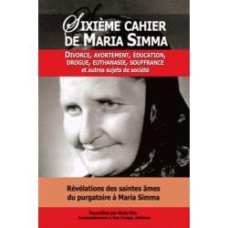 Sixième cahier de Maria Simma - Maria Simma