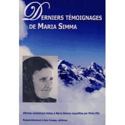 Derniers témoignages de Maria Simma - Maria Simma