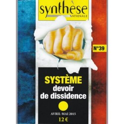 Synthèse Nationale n°39 - Avril-Mai 2015
