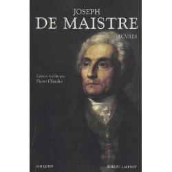 Oeuvres - Joseph de Maistre