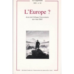 L'Europe ? - La Légitimité, 2002 - n°45