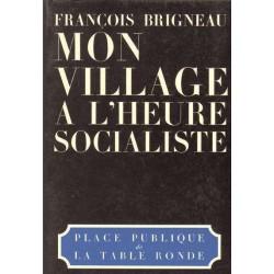 Mon village à l'heure socialiste - François Brigneau