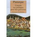 Conseils aux politiques pour bien gouverner - Poche - Plutarque