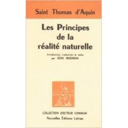 Les Principes de la réalité naturelle - Saint Thomas d'Aquin