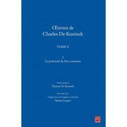 Oeuvre de Charles de Koninck - Tome II - 2 - Charles de Koninck