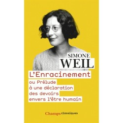L'enracinement - Simone Weil (POCHE)