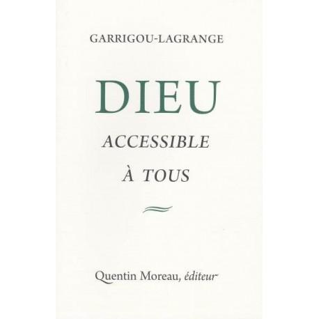 Dieu accessible à tous - Garrigou-Lagrange