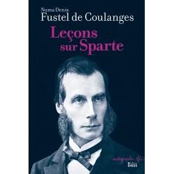 Leçons sur Sparte - Numa Denis Fustel de Coulanges