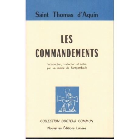 Les commandements - Saint Thomas d'Aquin