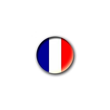 Badge Bleu - Blanc - Rouge