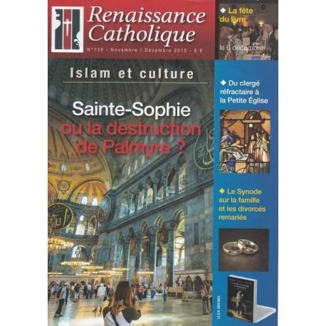 Renaissance catholique n°139 - Novembre-Décembre 2015
