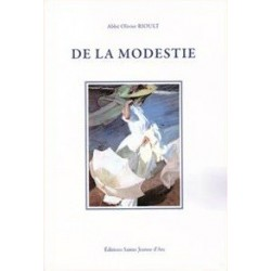 De la modestie - Abbé Olivier Rioult