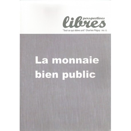 Perspectives libres n°15 - septemre 2015