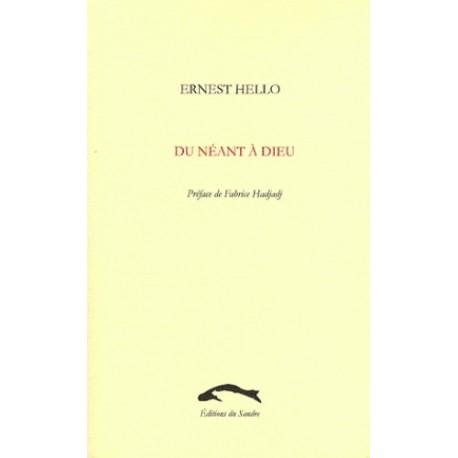 Du néant à Dieu - Ernest Hello