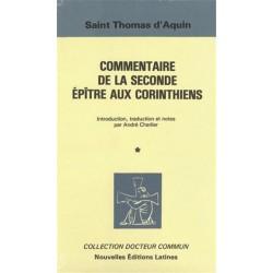 Commentaire de la seconde épître aux Corinthiens - Saint Thomas d'Aquin