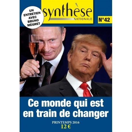 Synthèse nationale n°42- Printemps 2016