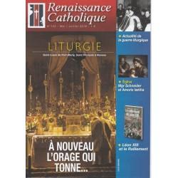 Renaissance catholique n°142 - Mai-Juillet 2016