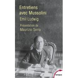 Entretiens avec Mussolini - Poche - Emil Ludwig