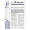 Faits & Documents - n°419 - du 15 juillet au 15 septembre 2016