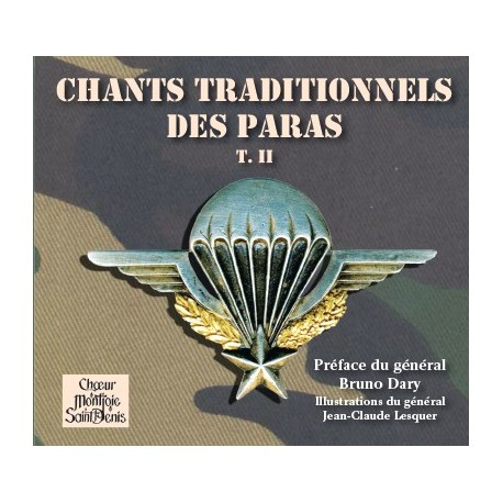 CD : Chants traditionnels des paras tome II - Choeur Montjoie