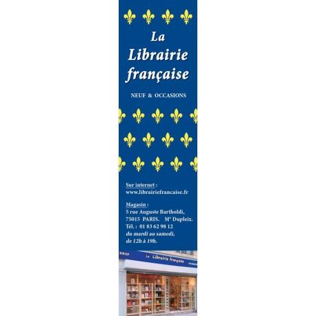 Marque-page Librairie française