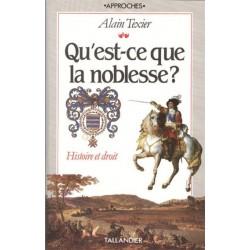 Qu'est-ce que la noblesse ? - Alain Texier