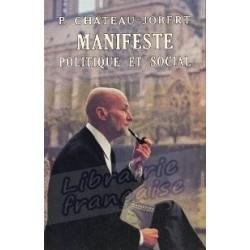 Manifeste politique et social - Pierre Chateau-Jobert