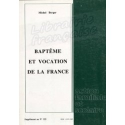 Baptême et vocation de la France - Michel berger