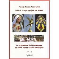 Notre-Dame de Fatima face à la synagogue de Satan