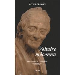 Voltaire méconnu - Xavier Martin (poche)
