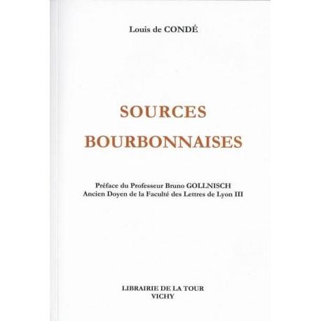 Sources  bourbonnaises - Louis de Condé