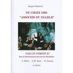 """Du choix des """"Associés du diable"""" par le """"Commité X"""" -  Jacques Delacroix"""