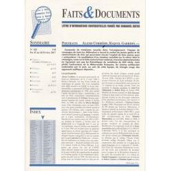 Faits & Documents - n°429 - du 15 au 28 février 2017