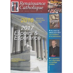 Renaissance catholique n°145 - janvier/février 2017