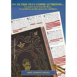 On ne pe plus comma autrefois - abbé Anthony Cakada