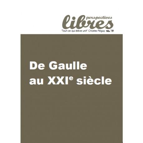Perspectives Libres n°19 - De Gaulle au XXIe siècle