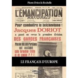 Le Français d'Europe - Pierre Drieu La Rochelle