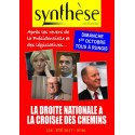 Synthèse nationale n°46 -  Eté 2017