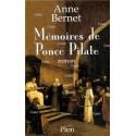 Mémoires de Ponce pilate - Anne Bernet
