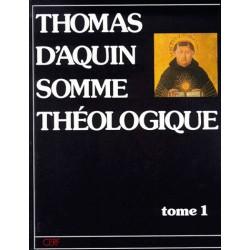 Somme théologique (Tome 1) - Saint Thomas d'Aquin