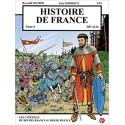 BD Histoire de France T6 - Les capétiens, du roi des Francs au roi de France - Reynald Secher, Guy Lehideux
