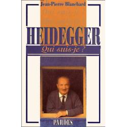 Heidegger - Jean-Pierre Blanchard