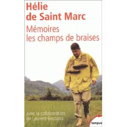 Mémoires, les champs de braises - Hélie de Saint-Marc (poche)